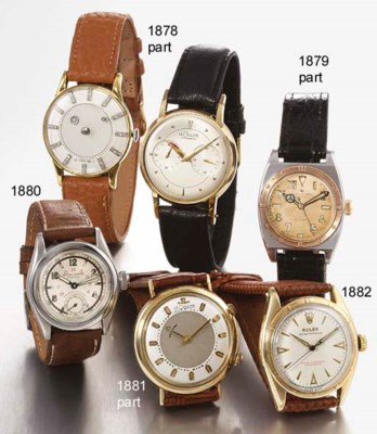 LECOULTRE AND GRUEN. A LOT OF