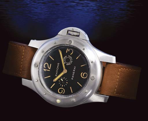 PANERAI. A VERY RARE AND LARGE