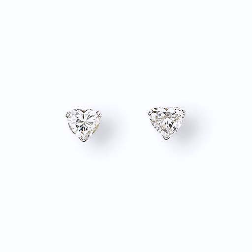 A PAIR OF DIAMOND EARRINGS, BY CARTIER