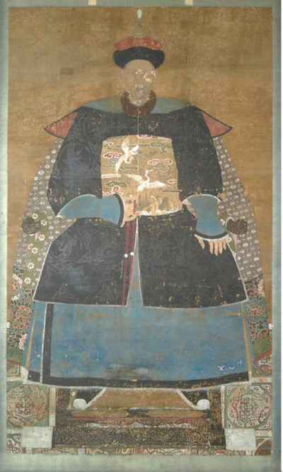A CHINESE ANCESTRAL PORTRAIT,
