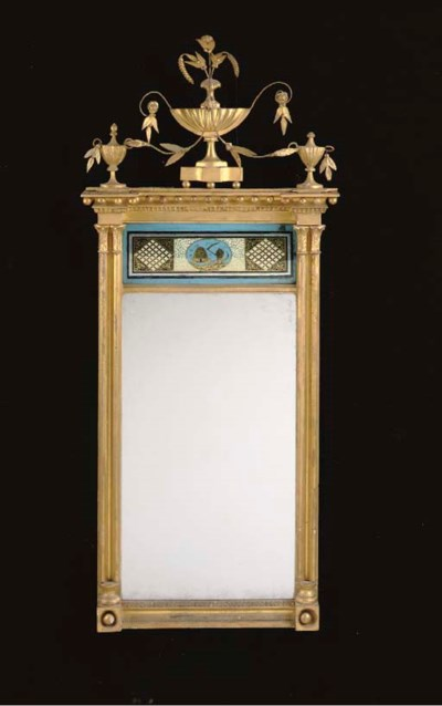 A FEDERAL GILTWOOD AND VERRE E