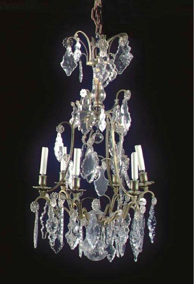 A LOUIS XV STYLE CUT AND MOLDE