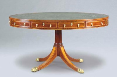 A VICTORIAN SATINWOOD-INLAID M