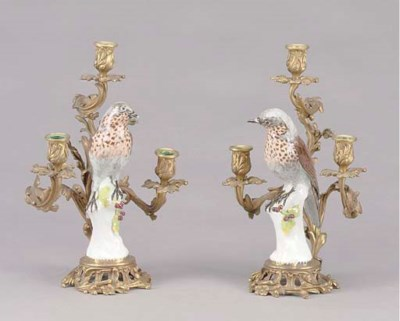 A PAIR OF LOUIS XV STYLE SAMSO
