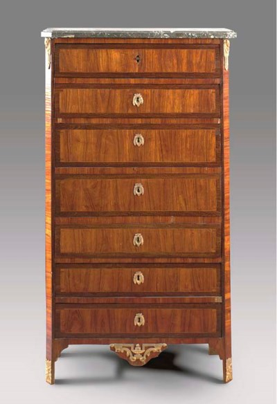 A LOUIS XVI STYLE KINGWOOD AND