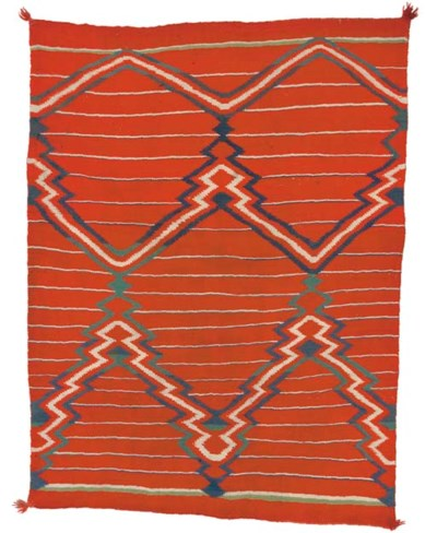 A LATE CLASSIC NAVAJO WEARING