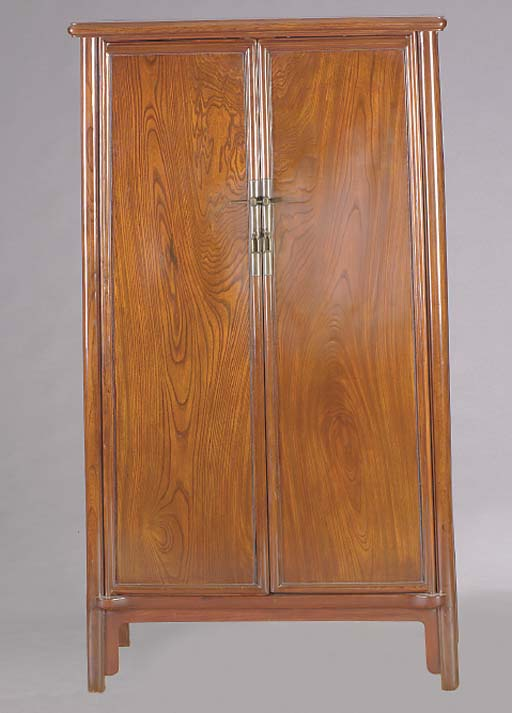 A CHINESE HARDWOOD CABINET,