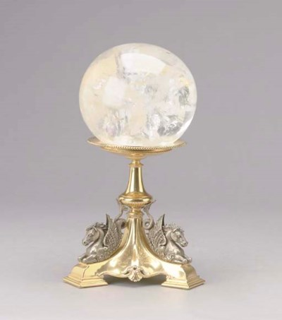 A BAROQUE STYLE SILVER-PLATED