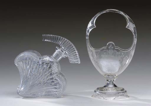 A GROUP OF GLASS TABLE ARTICLE