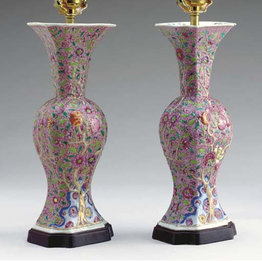 A PAIR OF CHINESE PORCELAIN BA