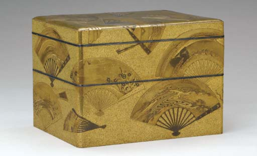 A JAPANESE TWO-TIER LACQUER ST