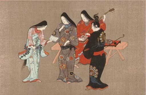 THIRTY-FOUR JAPANESE PRINTS,