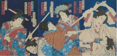 TOYOHARA KUNICHIKA (JAPANESE,