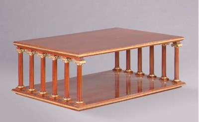 A NEOCLASSIC STYLE PARCEL-GILT