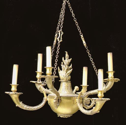A NEO-CLASSICAL STYLE GILT MET