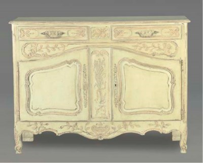 A FRENCH PROVINCIAL STYLE CARV