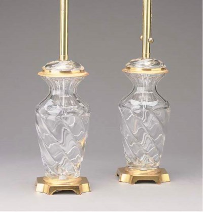 A PAIR OF GILT-METAL-MOUNTED M