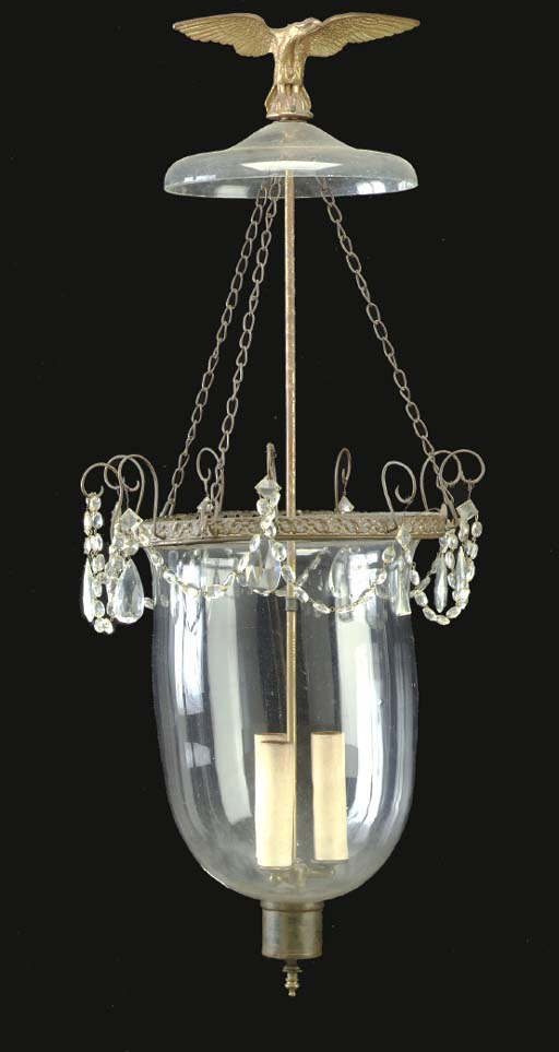 A REGENCY GLASS AND CUT-GLASS