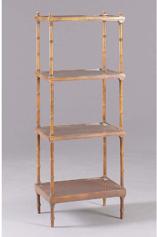 A VICTORIAN STYLE FAUX BAMBOO