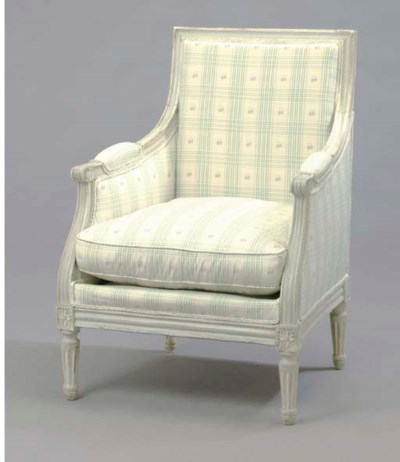 A PAIR OF DIRECTOIRE STYLE UPH
