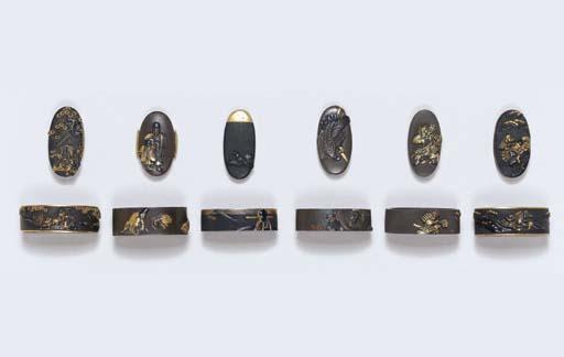 Six Sets of Fuchi-Kashira