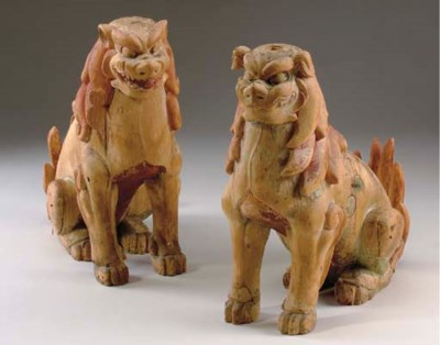 A Pair of Guardian Dogs (Koma-