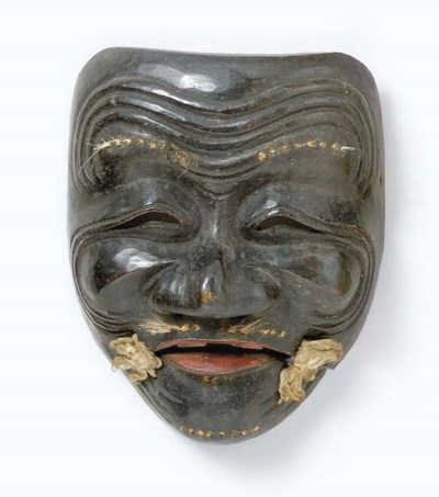 Noh Mask of Kokushikijo (Sanba