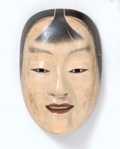 Noh Mask of Kasshiki (Acolyte)