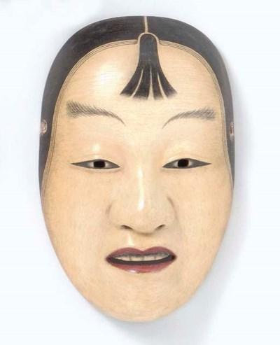 Noh Mask of Ko-Kasshiki (Acoly