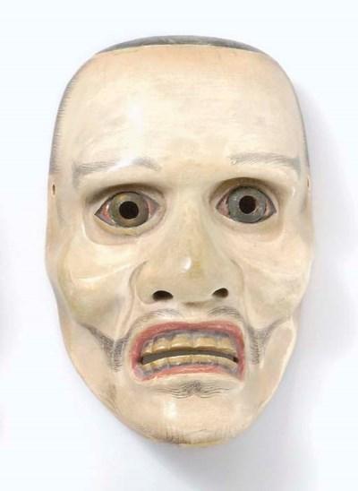 Noh Mask of Togo