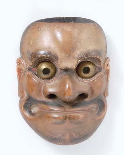 Noh Mask of Choreibeshimi