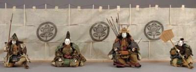 Set of Four Warrior Dolls (Mus
