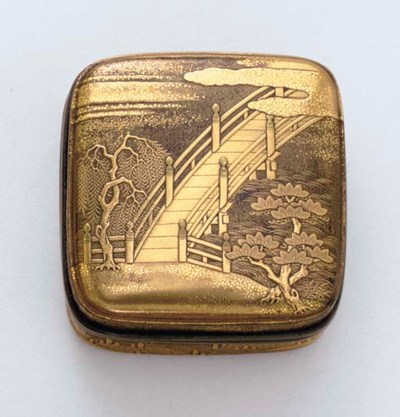 A Lacquer Incense Container (K