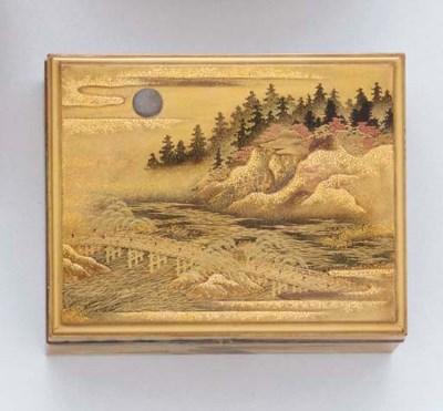 A Lacquer Incense Box (Kobako)