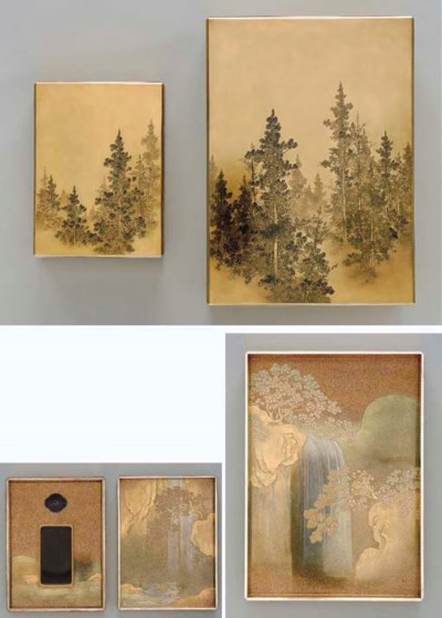 A Uematsu Hobi (1872-1973) Lac
