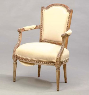 A LOUIS XVI STAINED BEECHWOOD