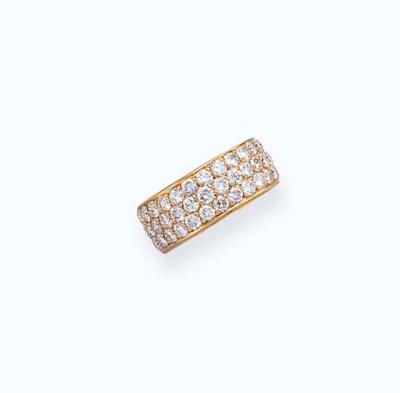 A DIAMOND ETERNITY BAND, BY CA