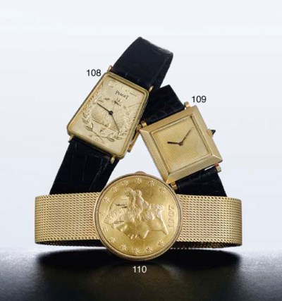 BOUCHERON. A LADY'S 18K GOLD S