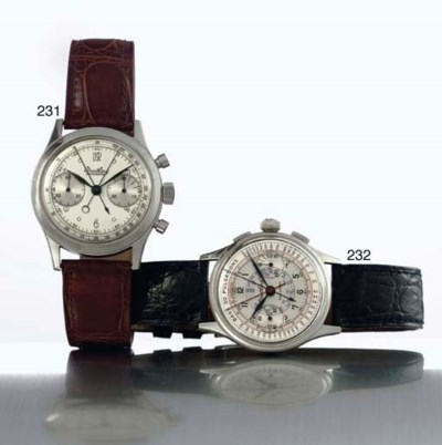 BREITLING. A RARE AND LARGE ST