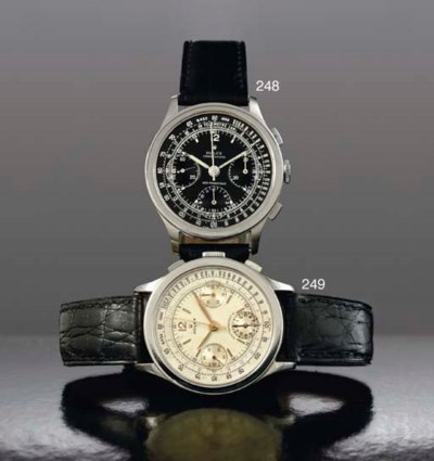 ROLEX. A FINE AND RARE LARGE S