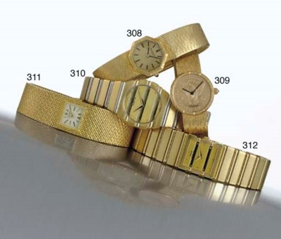 PIAGET. AN 18K TWO-COLOR GOLD