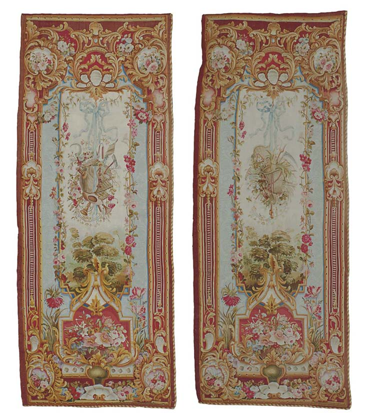 A pair of Napoleon III Aubusso