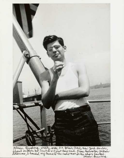 ALLEN GINSBERG (1926-1997)