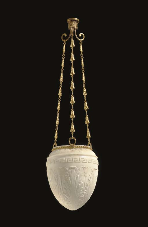 A FRENCH ORMOLU AND ALABASTER