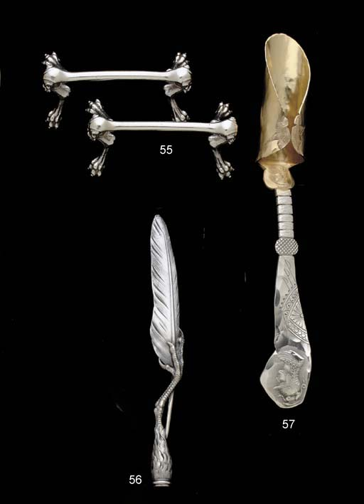 A SILVER LETTER OPENER