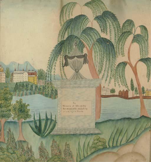 AMERICAN SCHOOL, CIRCA 1813