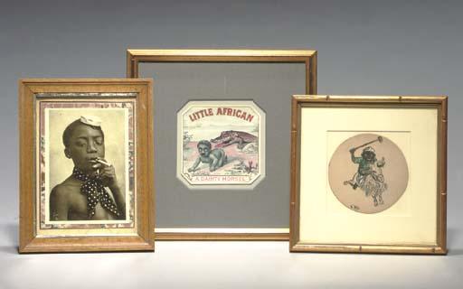 A GROUP OF VARIOUS FRAMED AFRI