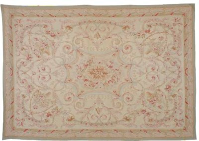 A MODERN CHINESE AUBUSSON STYL