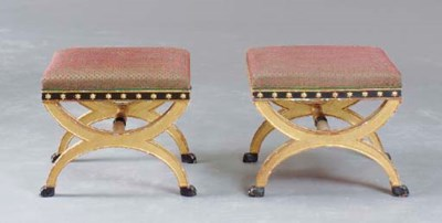 A PAIR OF NEOCLASSICAL STYLE E