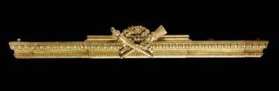 TWO LOUIS XVI STYLE GILTWOOD V